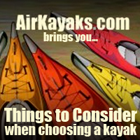 choosing an inflatable kayak